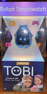 New Little Tikes Tobi Robot Smartwatch Smart Watch for Kids with Cameras Blue