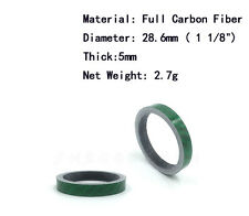 CNC Machined Superlight  Carbon Fiber 5mm & 10mm Bike Bicycle Headset Spa
