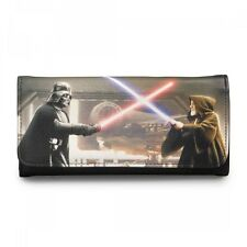 Star Wars Darth Vader & Obi-Wan Photo Real Wallet NEW Toys SW Wallets