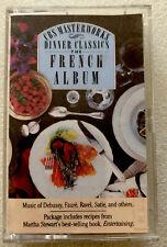 Dinner Classics: French Album  AUDIO CASSETTE