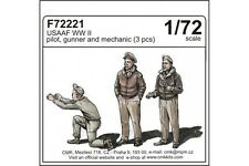 CMK F72221 1/72 USAAF WWII pilot, gunner and mechanic (3 fig)