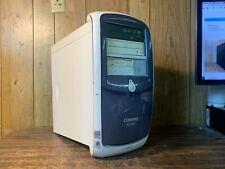 Vintage Compaq Presario 5000 Windows XP Computer RS232 9 Pin Parallel Serial