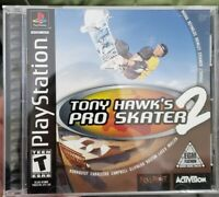TONY HAWK'S PRO SKATER 2 Playstation 1 PS1 console system game COMPLETE original