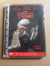 """DVD """"L'ESERCITO DELLE 12 SCIMMIE"""" + CONTENUTI SPECIALI WIDESCREEN dodici - A8"""