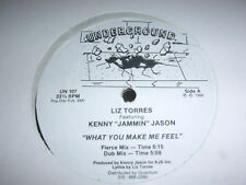 Liz torres feat. Kenny JAMMIN Jason what you make me feel us underground label
