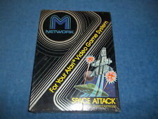 NEW ( NOS ) ATARI 2600 SPACE ATTACK GAME FACTORY SEALED & S/W BOX MATTEL 7800
