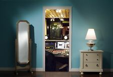 Door Mural Music Studio Abbey Road View Wall Stickers Decal Wallpaper 185