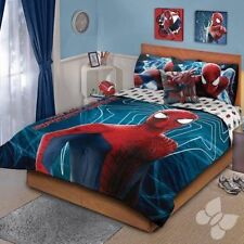 Amazing Spider man Comforter Set Double Sided Kids Boys Room Bedding Cover New