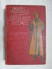 Original Adventures of Sherlock Holmes by A. Conan Doyle Limited Ed. Illustrated