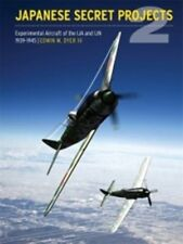 Japanese Secret Projects vol 2 Experimental Aircraft of the Ija book paper