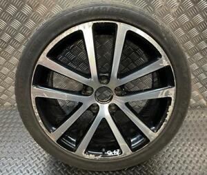 "GENUINE VW GOLF GT CHARLESTON 18"" ALLOY WHEEL 1K0601025AG (Q47)"