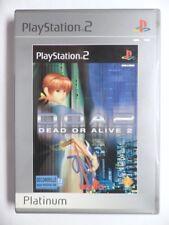 jeu DEAD OR ALIVE platinum pour playstation 2 sony PS2 francais combat DOA2