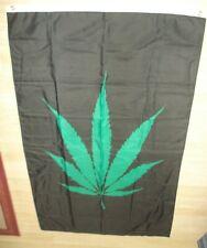 Vintage Large Marijuana Flag Beautiful Colorful Design Nr