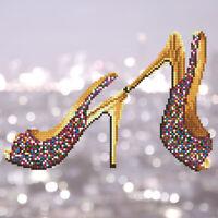 Diamond Painting Kit Dotz 5D 3D DIAMOND ART - HIGH HEELS 32 x 32cm Glam Fashion