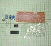 Wasser Fließendes Licht  LED  Modul  (11XWeiß led, 4-12V)  - Bausatz E932