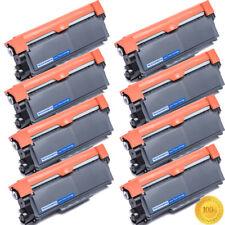 8PK High Yield TN660 Black Toner for Brother MFC-L2740DW L2700DW HL-L2300Printer