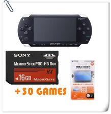 SONY PSP 100X + Screen Guard + 16GB Memory Stick + 30 Games bundle bulk