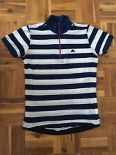 Chapeau Stripe Half Zip Women's Cycle Jersey. Size S M