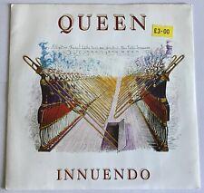 "QUEEN,INNUENDO,AND BIJOU,VINTAGE 1991,7"" 45rpm,VINYL EX,EX"