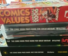 More details for comic book price guide for great britain x 3 + us price guide 2006