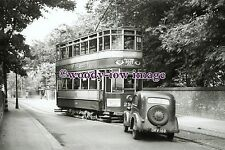 a0630 - Newcastle Tram no 296 to Scotswood - photograph