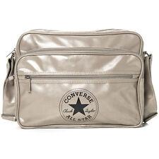 Converse XL Pocketed Reporter Retro Bag (Silver)