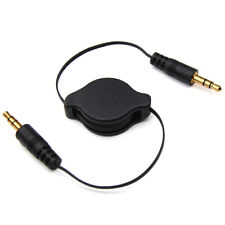 3.5mm auxiliar audio del coche jack retractable cable para iPod Mp3 iPhone