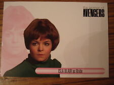 THE WOMEN OF THE AVENGERS: AUTOGRAPH CARD: ISLA BLAIR AS BRIDE - UNSIGNED