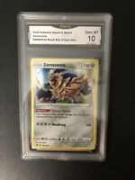 Pokemon Zamazenta SWSH034 Black Star Promo Holo GEM MINT 10 GMA LIKE CGC BGS PSA