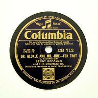 "BENNY GOODMAN & HIS ORCHESTRA ""Texas Tea Party"" COLUMBIA CB-712 [78 RPM]"