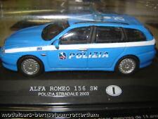 Alfa Romeo 156 SW Polizia Italy CARARAMA  (blister)