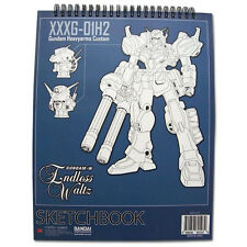 *NEW* GUNDAM WING HEAVYARMS CUSTOM SKETCHBOOK