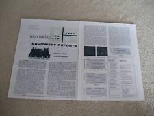 McIntosh MA 230 Control Amp Review, 1964, 2 pgs