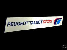 PTS PEUGEOT TALBOT SPORT int Autocollant 205 GTI 309 rallye