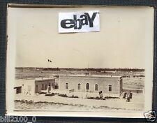 PHOTO ORIGINALE D'EPOQUE.TUNISIE . GABES .LE VICE CONSULAT DE FRANCE . VERS 1900