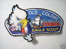 OLD COLONY COUNCIL EAGLE SCOUT PATCH NUMBERED