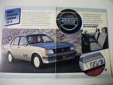 1983 HOLDEN GEMINI ZZ/Z FULL COLOUR 2 PAGE MAGAZINE ADVERTISEMENT