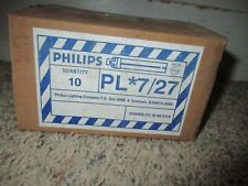 Philips PL-S 7 / 27  Fluorescent Light Bulbs Case of 10 Bulbs