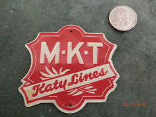Post Cereal Tin MKT Miniature Railroad sign 1950'S...Free Shipping!