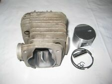 STIHL TS400 OEM USED CYLINDER + AFTERMARKET PISTON + PIN + CLIPS  4223-020-1200