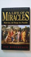 """A life Of Miracles by Pat Robertson """"Touched by the Hand of God"""" S-13 DVD and CD"""