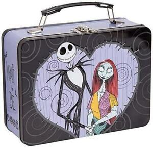 Nightmare Before Christmas - Jack & Sally Tin Tote Lunchbox