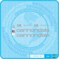 Cannondale R700 Bicycle Decals Transfers Stickers - Choice Of 3 Colours
