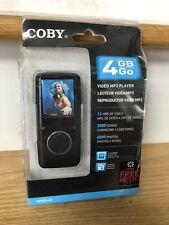 "Coby 4GB Go Video Black MP3 Player MP620-4G w/ FM Radio 1.8"" Color LCD~NEW"