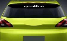 LUNOTTO POSTERIORE ADESIVO PER quattro AUDI Premium QAULITY
