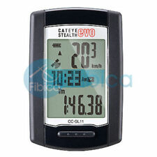 New CATEYE Stealth 11 with GPS CC-GL11 Cycle Computer Speedometer Mountain Road