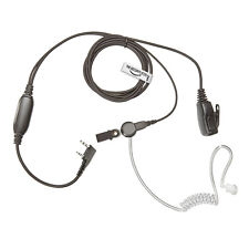 MITEX Radio Earpiece (Bodyguard Covert Acoustic Tube Headset HQ PTT Microphone)