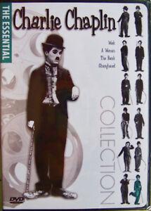 ESSENTIAL CHARLIE CHAPLIN: Vol. 6... 4 Short Films (DVD, 2003, Fullscreen, B&W)