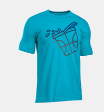 NWT Under Armour UA Get Buckets T Shirt Mens Size Adult Medium