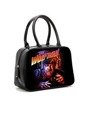 Rock Rebel Wolfman in Color Bowler Handbag Vintage